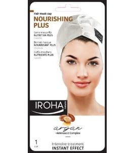 Iroha Nature -  Haartuchmaske Hair Mask CapArgan (Sauna Repair), 40g