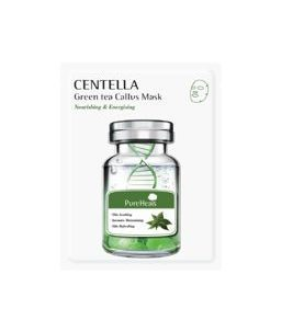 PureHeals -  Capsule Centella Green Tea Callus Vlies Mask, 25 g