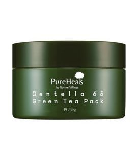 PureHeals -  Mask Centella 65 Green Tea Pack (Jar), 130 ml: