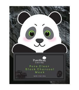 PureHeals -  Mask Pore Clear Black Charcoal Mask, 25 g